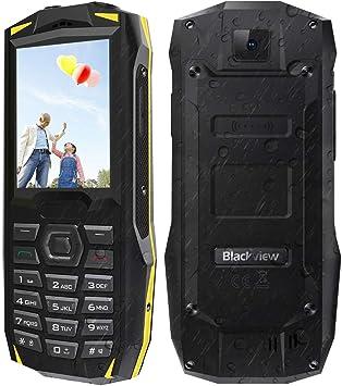 2019 Telefono Movil para Mayores, Blackview BV1000 de Batería ...
