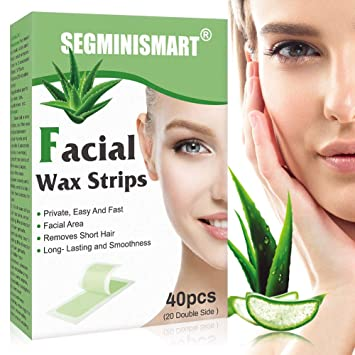 Amazon Com Facial Wax Strips Hair Removal Wax Strip Mini Face