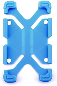 """Sinbadteck Universal 7-8"""" Shockproof Silicone Cover Case Stand for RCA 7"""" Voyager II/1st Gen,iPad Mini,Kindle,Q8,Galaxy Tab,Verizon Asus Google Dragon Touch &Other 7-8inch Tablets(7-8"""", Blue)"""