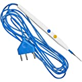 MediChoice Electrosurgical Pencil, Button Switch w/Holster, Stainless Steel, 2.5 Inch, 1314ES5004 (Case of 50)