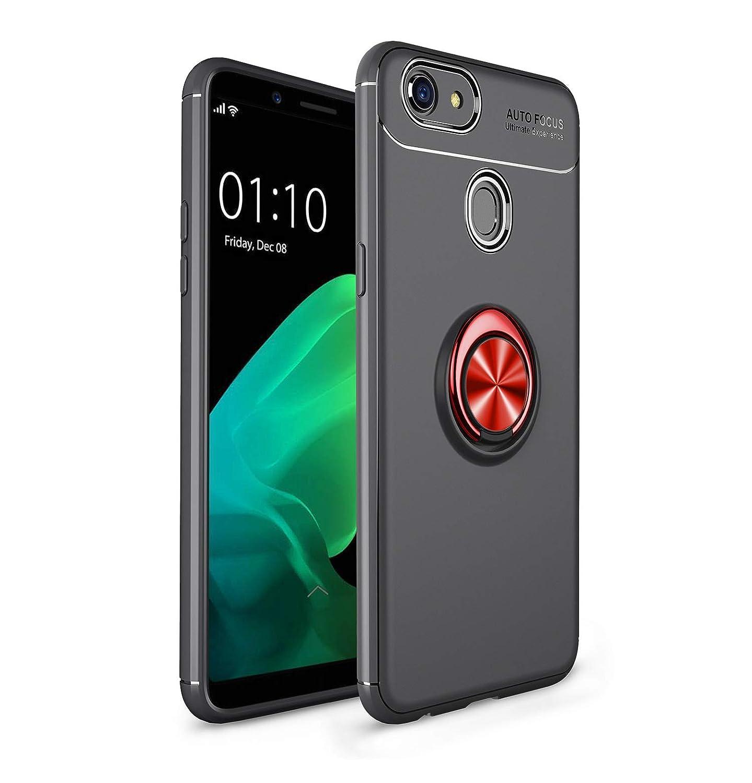 hyujia Compatible OPPO A73 Funda 2018 Negro Rojo,OPPO F5 Carcasa ...