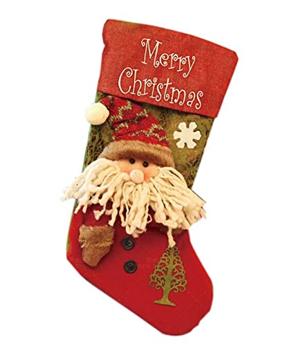 panda superstore lovely christmas stockingsbig size stocking for decorations a2042cm - Big Christmas Stockings
