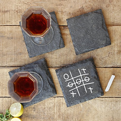 Coasters Store Indya Wooden Tea Coffee Coaster Set Of 4