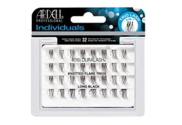 15b90219204 Buy Long : Ardell Individual Trios Eyelash, Black, Long Online at Low  Prices in India - Amazon.in