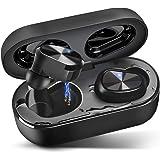 Wireless Earbuds Bluetooth 5.0 Headphones IPX7 Waterproof TWS Stereo Headphones in Ear Built in Mic Headset Premium…