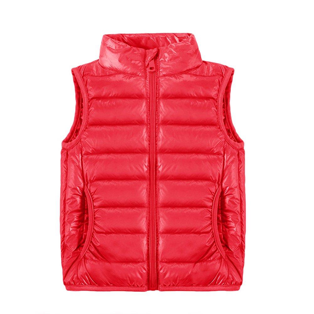 O& N Kids Boys Girls Toddlers Warm Autumn Winter Jackets Duck Down Vest Tops Tank Coat Down Jackets Gilets Outerwear