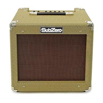 Amplificador de Guitarra Subzero V35RG de 35W con Reverberación de Gear4music