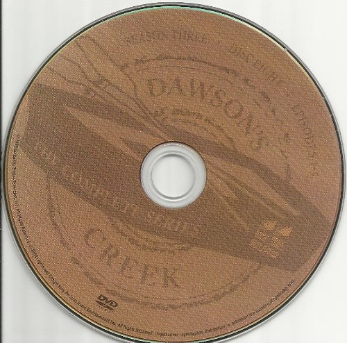 Dawson's Creek the Complete Series Disc 8 Containing Season 3 Episodes 1-5 Replacement Disc!