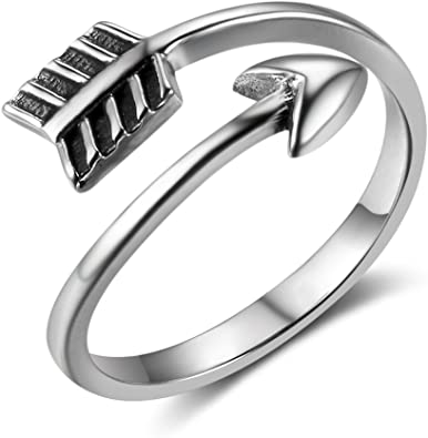 New Women Fashion Jewelry 925 Sterling Silver Plated Size 8 Ring Thumb Finger