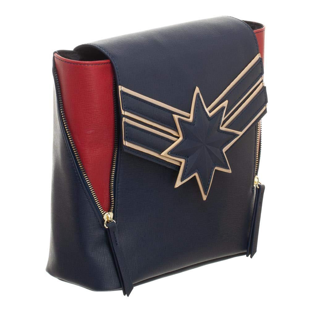 Marvel Captain Marvel Mini Backpack Purse Daypack by Bioworld (Image #3)