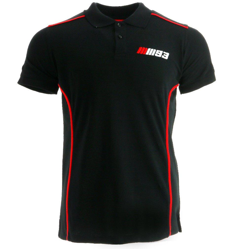 Marc Marquez 93 Moto GP Team Apparel negro camisa polo Oficial ...
