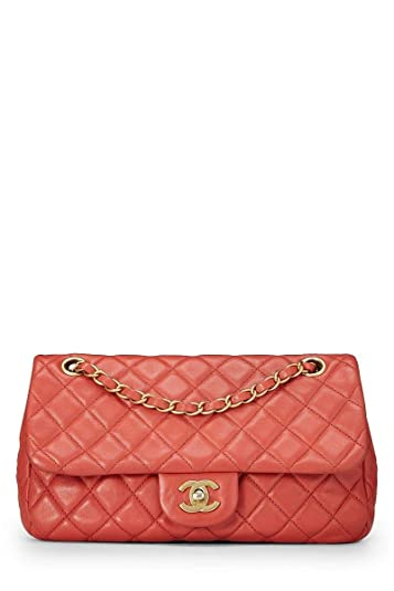 9e0e2fc7734967 CHANEL Cerise Quilted Lambskin Charms Flap Bag Small (Pre-Owned ...