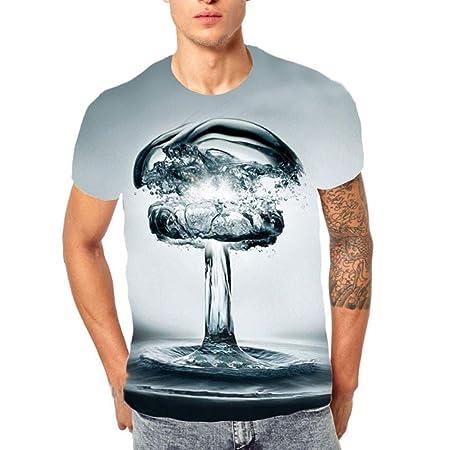 Amazon.com: Camisetas Casual T para Hombre, 2019 Nueva ...