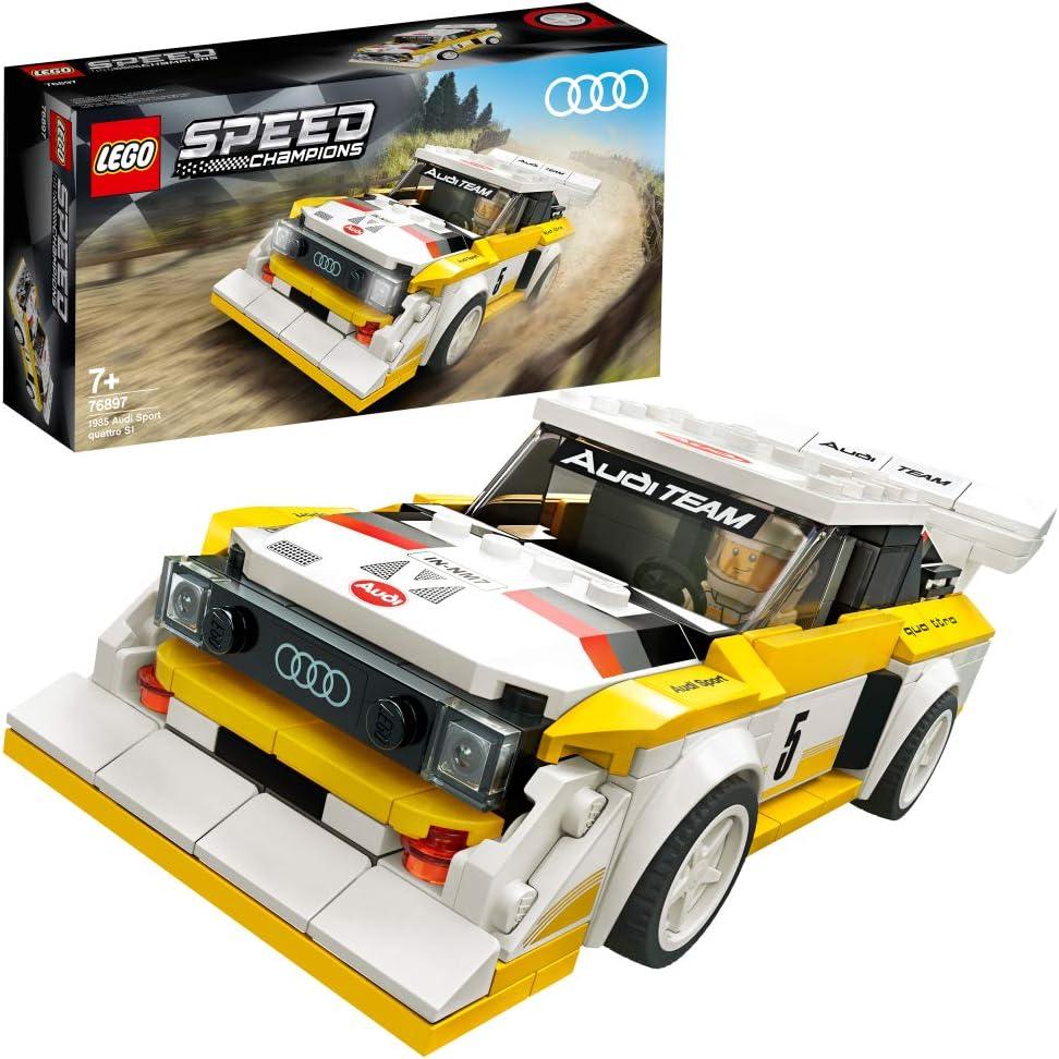 レゴ(LEGO) スピードチャンピオン 1985 アウディ スポーツ・クワトロS1 76897