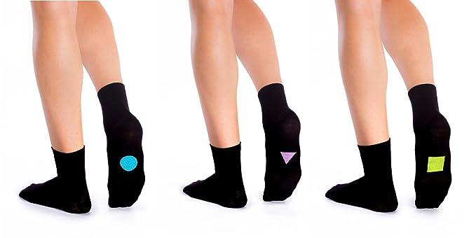 Symbol Calcetines 3 pares Calcetines Negro Con Diseño, hombre/mujer Standard #2 44