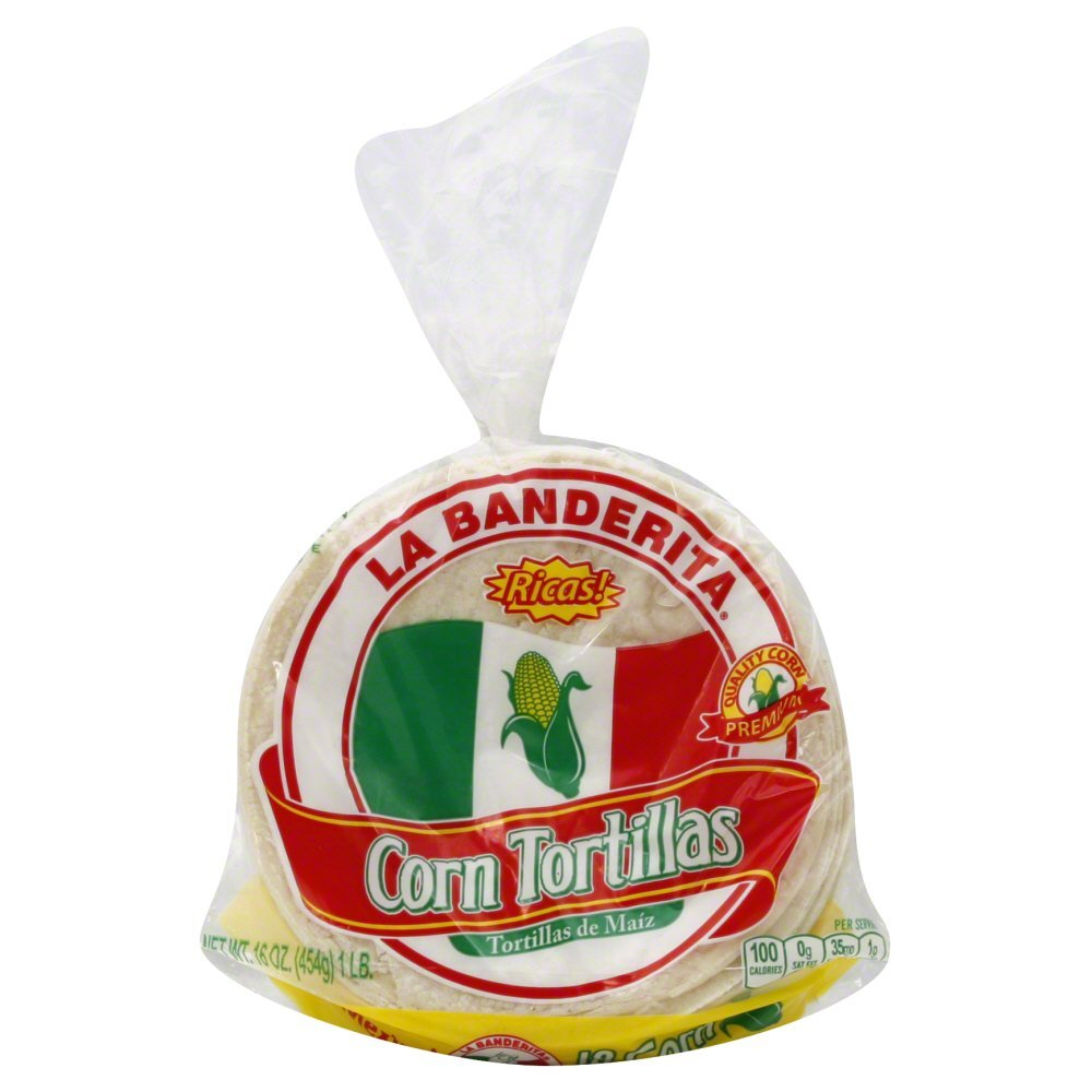 La Banderita Corn Tortillas 16.0 OZ