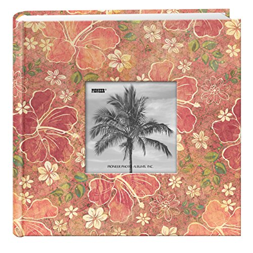 Travel Designer Photo Album, Tropical Hibiscus