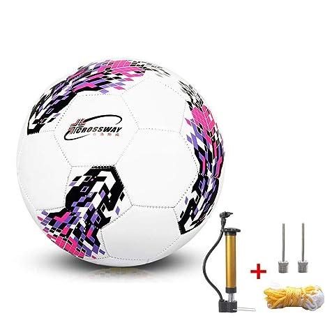 jiutinggood - Bolsa de Malla para balón de fútbol, tamaño 5 ...