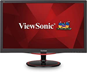 ViewSonic VX2458-MHD 24 Inch 1080p 1ms 144 Hz Gaming Monitor with FreeSync Flicker-Free and Blue Light Filter HDMI and DP (Renewed)