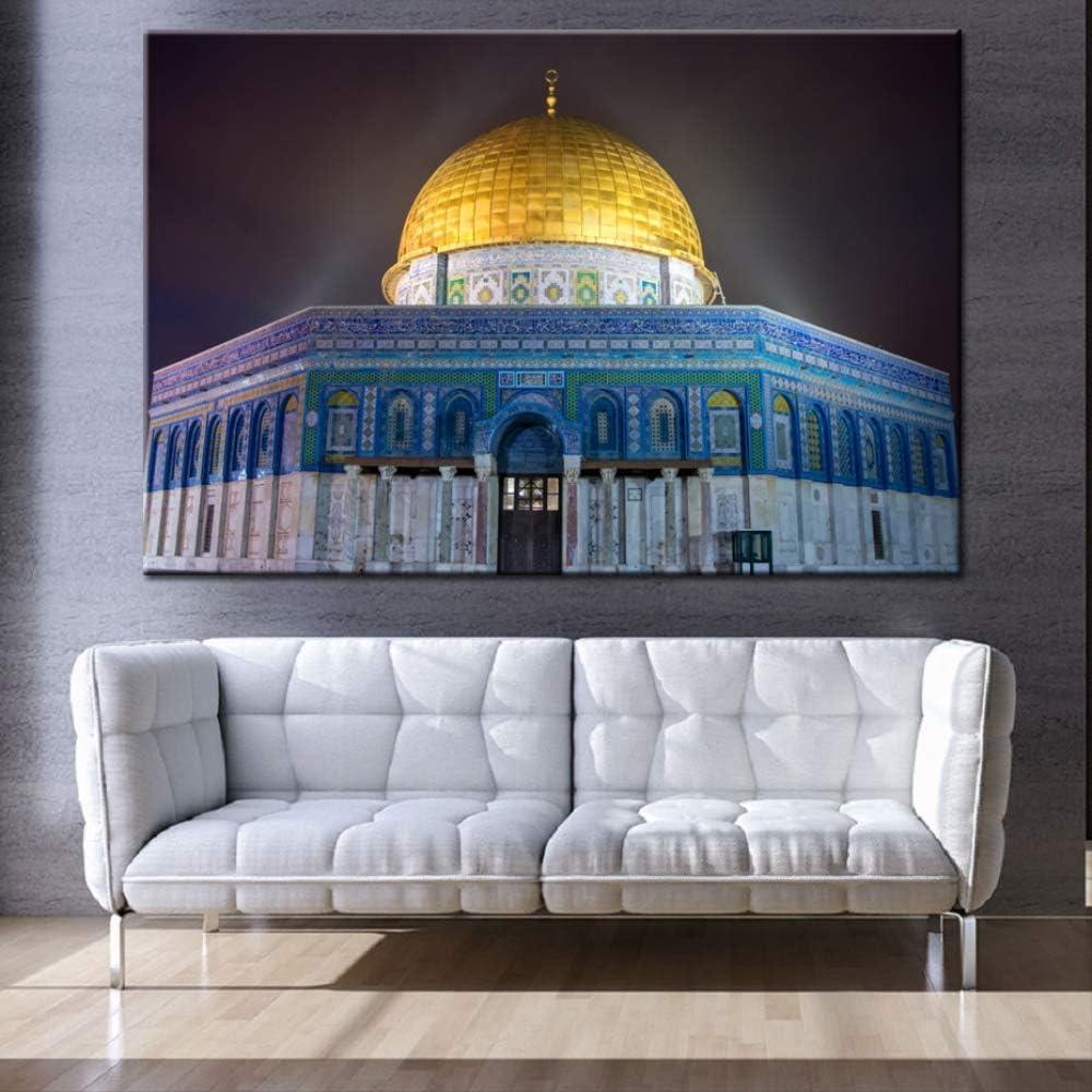 Home Décor 7x Öl Leinen Mecca Hajj Islamische Moslem Wandkunst