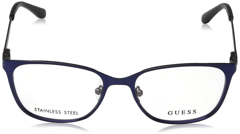 Metal Metalic Blue Guess frame Metalic Brown GU-2629 091