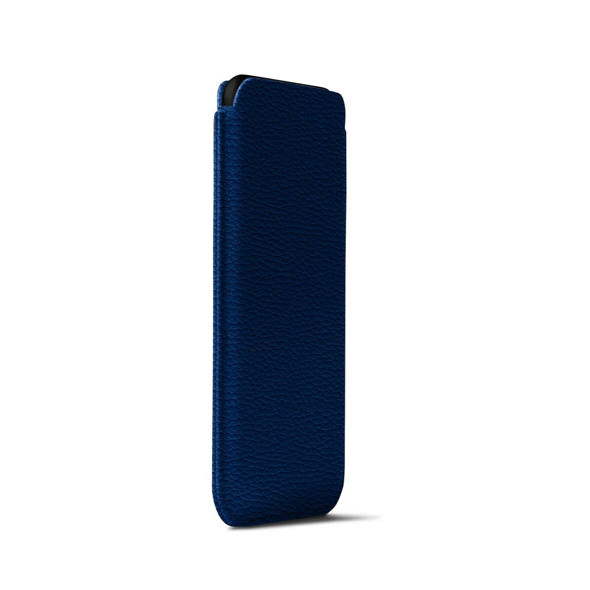 Lucrin - Classic Case for iPhone X - Royal Blue - Granulated Leather by Lucrin (Image #5)