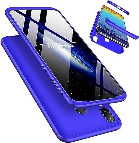 Funda Samsung Galaxy M20 360°Caja Caso + Vidrio Templado Laixin 3 ...