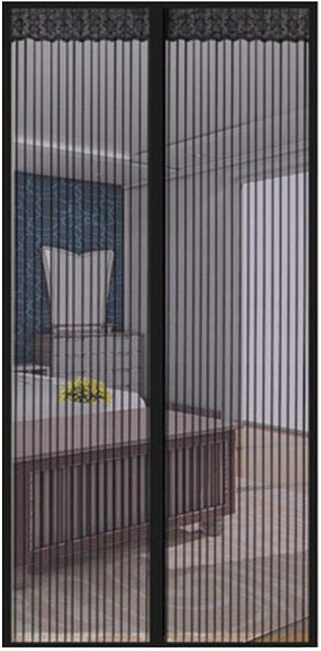 QDR Mosquitera Puerta Magnetica Corredera Cortina Mosquitera para Puertas De Sala De Estar La del BalcóN De Patio,Adhesiva FáCil De Instalar Se Cierra,A,70x200cm(28x79inch): Amazon.es: Hogar