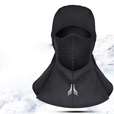 43b3dc1bc46a67 Amazon.com: Rosa Kiss Outdoor Sports Fleece Face Mask Winter Ski Snowboard  Hood Windproof Neck Warm Motorcycle Cycling Cap Hat Bicycle Thermal Scarf:  Sports ...