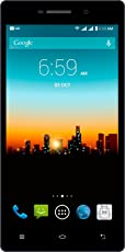 "Posh Kick X511A Smartphone, Pantalla 5.0"", Android 4.4 Kit Kat, Memoria Interna 8 GB, 1 GB de RAM, Cámara 5 MP, Procesador Quad1.3 GHz, Color Negro"