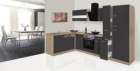 respekta Economy L a Forma di Angolo Cucina Cucina Riga Rovere ...