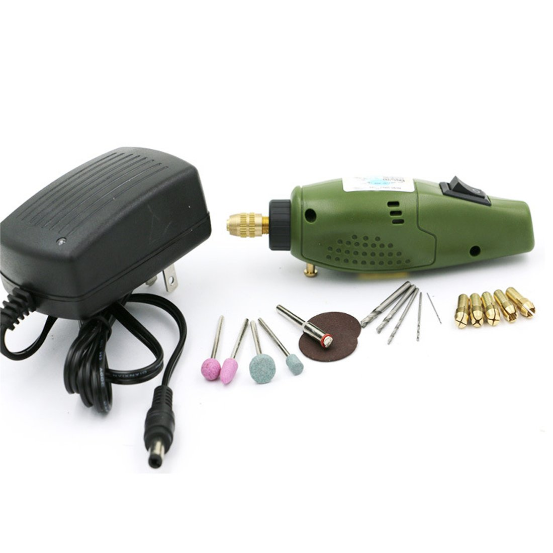 Mini 12V DC Electric Drill Electric Grinder Grinding Set for DIY Artist Milling Polishing Drilling Cutting Engraving Kit CY-Buity