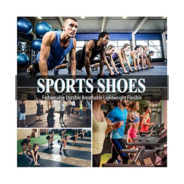 Homme Femme Chaussures de Course Running Sport Compétition Trail entraînement Basket Sneakers Outdoor Running Sports…