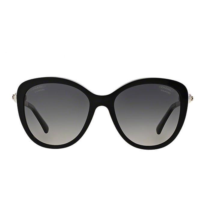 Chanel - Gafas de sol - para mujer negro negro: Amazon.es ...