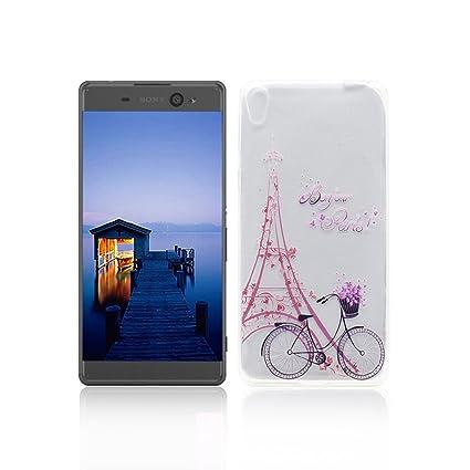 Funda Sony Xperia XA Ultra Carcasa Protectora OuDu Funda para Sony Xperia XA Ultra Caso Silicona TPU Funda Suave Soft Silicone Case - Torre & ...