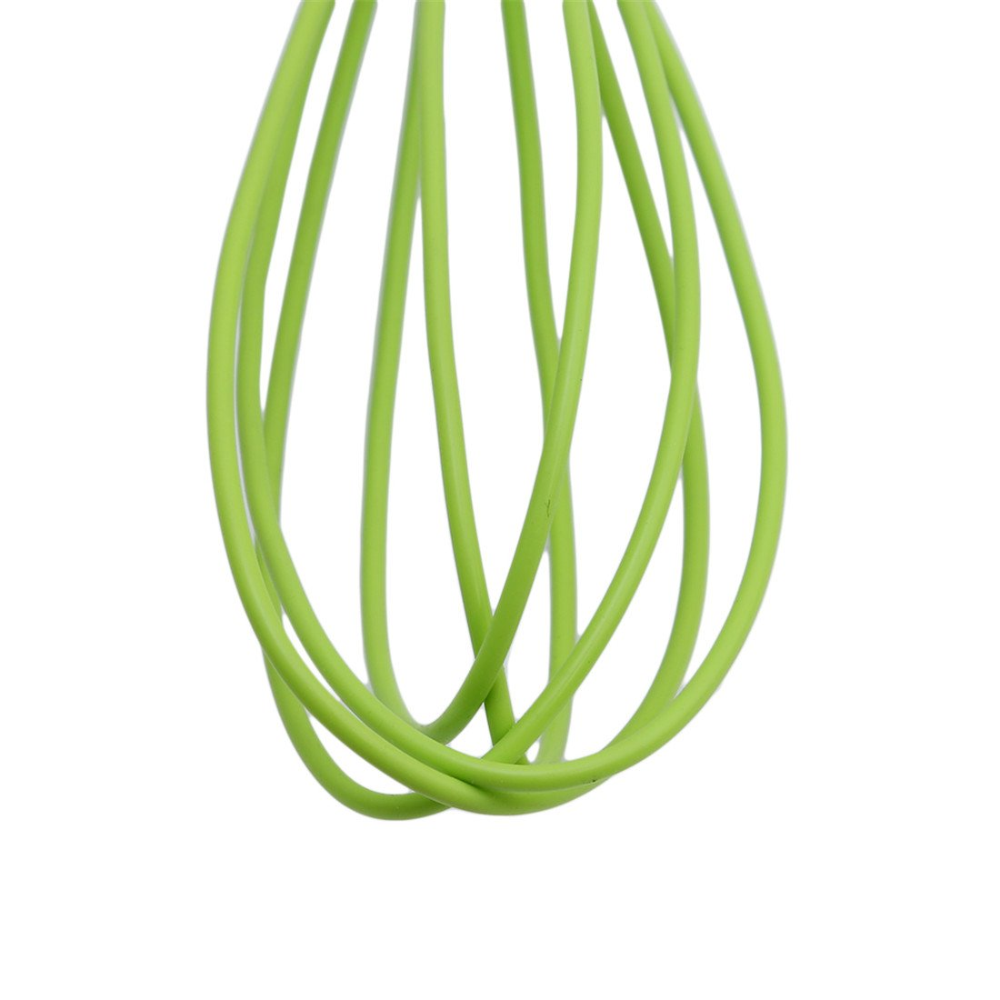 LALANG Silicone Manual Balloon Whisk Egg Beater Blender Kitchen Tools green