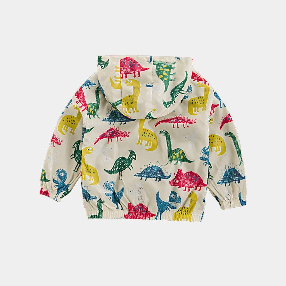 ace645477 Amazon.com  Baby Children Girls Boys Jacket Long Sleeve Dinosaur ...