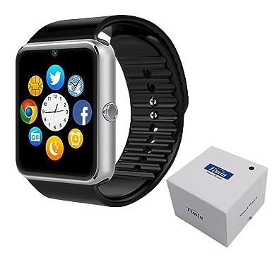Reloj inteligente, Culturesin GT08 Pantalla Táctil Bluetooth Reloj de Pulsera con Cámara / Tarjeta IM