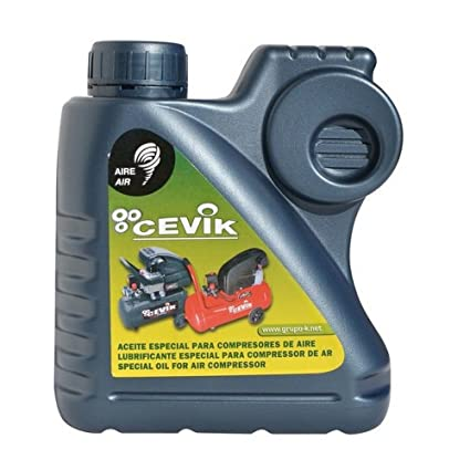 Cevik CA-ACEITE1L - Monoblock Portátiles Especial para compresores (1 lt.).