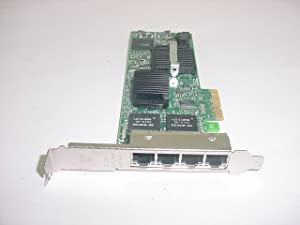 Dell Intel PRO/1000 VT Quad Port Server Adapter LP PCI-E with Both BR