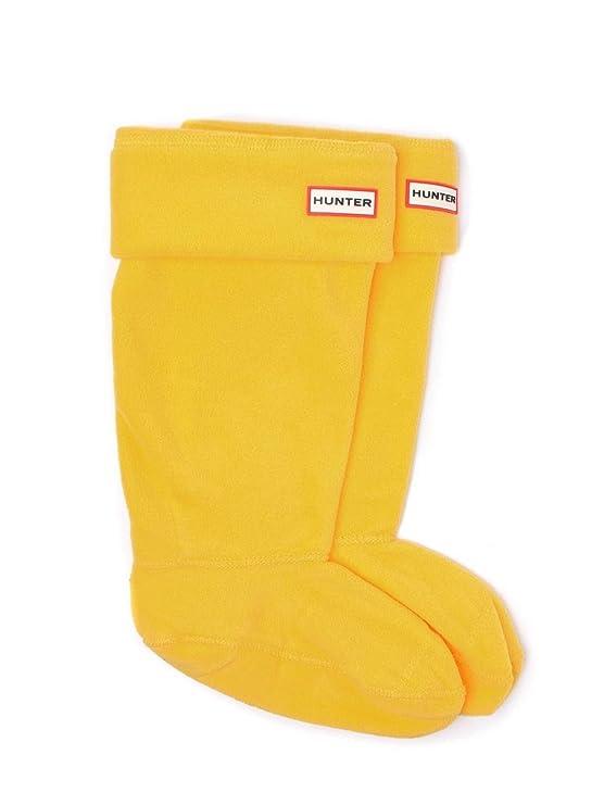 Hunter - Calcetines - para mujer amarillo amarillo Medium: Amazon.es: Ropa y accesorios
