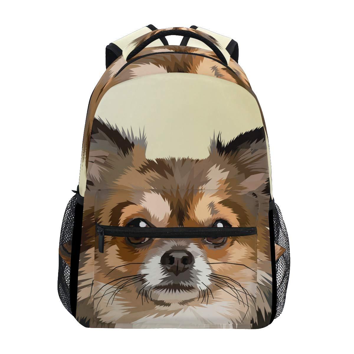 ファッションスクールバックパック ガールズ ボーイズ カジュアルデイパック 旅行カレッジ ブックバッグ レディース&メンズ かわいいペット猫プリント スクールバッグ B07L3S72W1 Multicoloured 10