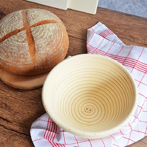 CAOLATOR Proofing cesta para pan y masa [8] - Mejor redondo Modo ...