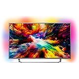 Philips Ambilight 50PUS7303/62 Televizyon, 127 cm (50 İnç) Akıllı TV (4K, LED TV, HDR Plus, Android TV, Micro Dimming Pro, DTS Premium Sound), Koyu Gümüş