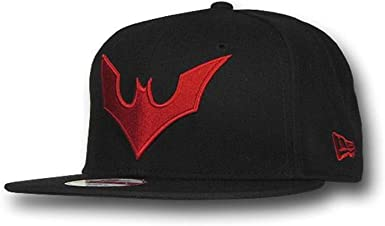 Batman más allá de símbolo 9 Fifty Gorra Plana, Color Negro ...