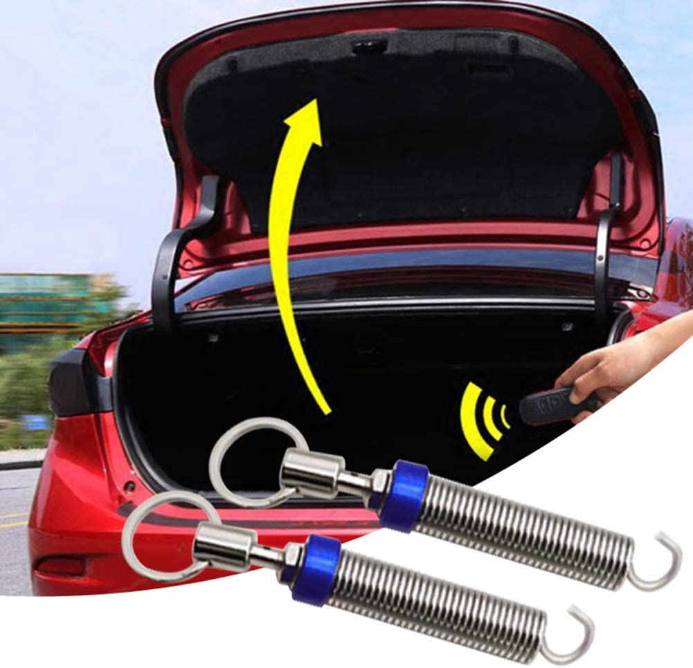UTUT Automatic Lifting Spring 2Pcs Car Trunk Adjustable Automatic Boot Lid Lifting Spring Remote Open Device Blue