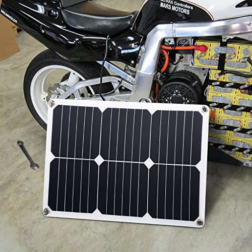 Suaoki 18v 12v 18w Solar Car Battery Charger Portable Sunpower Solar