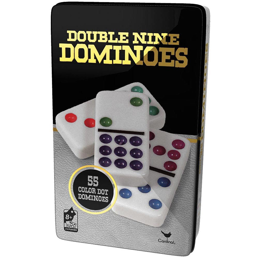 上品なスタイル Double Tin 9 Dominoes in Cardinal Tin by Dominoes Cardinal B01NADBHYH, 梅干菓子佃煮海産物 紀州福亀堂:04bc7178 --- yelica.com