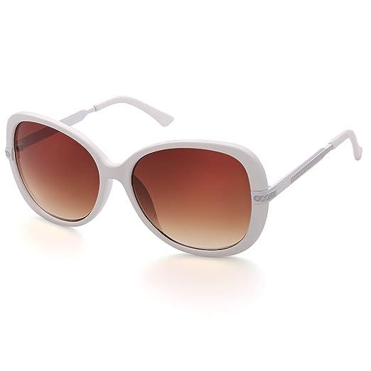 Ladies Oversized Large Frame Vintage Retro Sunglasses