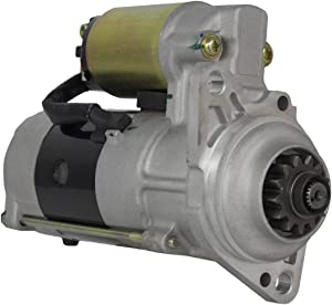 Rareelectrical NEW 12V 13T CW MITSUBISHI STARTER COMPATIBLE WITH TORO K3D K4D K4E ENGINES M2T56271 M2T56272